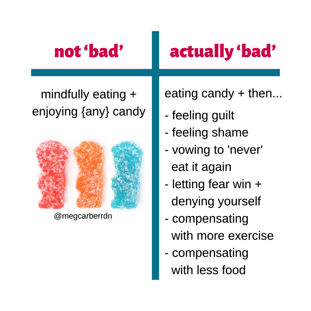 Good or bad candy